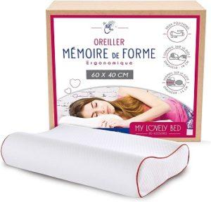 My Lovely Bed Oreiller Ergonomique Mémoire de Forme
