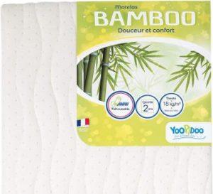 Yoopidoo Matelas Bébé Bamboo