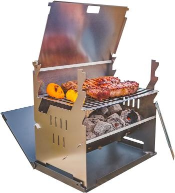 Barbecue portable Fennek - Barbecue à charbon de bois