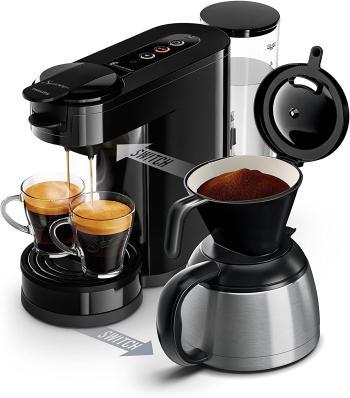 Philips HD6592/61 Machine à café SENSEO Switch 2 en 1 Noir