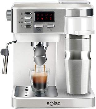 Solac CE4497 Multi Stillo - Machine à café multifonction 3 en 1