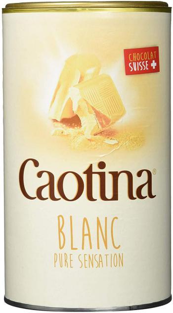 Boîte de chocolat blanc Caotina Blanc 500g, paquet de 6