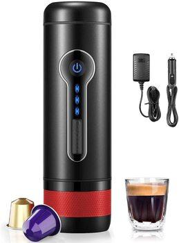 CONQUECO Machine à Café Nespresso Portable