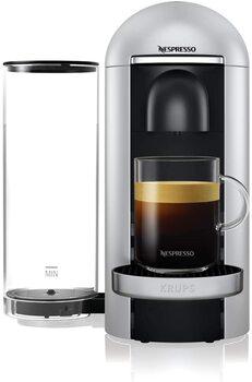 Krups Vertuo Plus silver Machine expresso, Nespresso, Machine à café