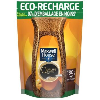MAXWELL HOUSE Café Soluble Recharge - 180 g