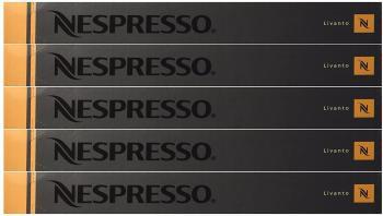 Nespresso Capsules bronze / orange - 50x Livanto - Original Nestlé - Espresso Cafe / Coffee