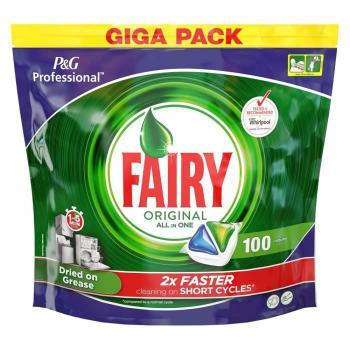 Fairy Original Tablette de lavage pour lave-vaisselle tout-en-un - Sachet de 100