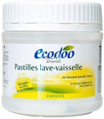 Pastilles lave-vaisselle écologiques à l'huile essentielle de citron bio 480 g