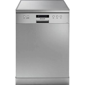 Lave-vaisselle pose libre BRANDT LVC137S - 13 couverts - Largeur 60 cm - 47 dB - Argent