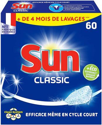 Sun Tablettes Lave-Vaisselle Classic 60 Lavages