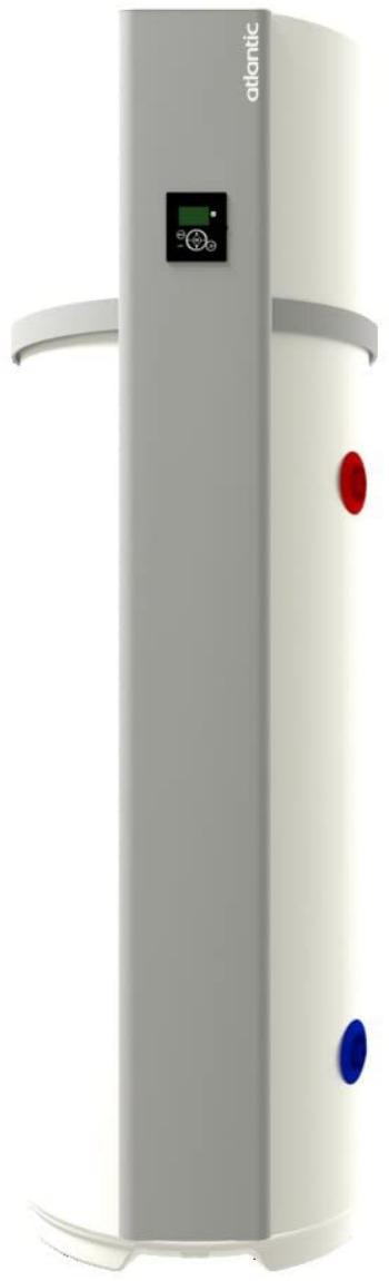 Chauffe-eau thermodynamique stable Calypso connecté - Atlantic - 250L