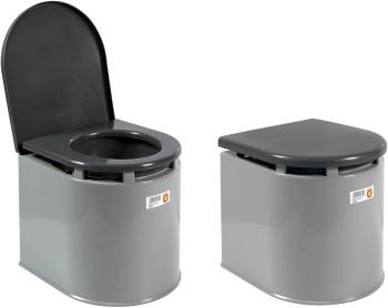 Giganplast 3573900 WC Chimique pour Camping, Gris