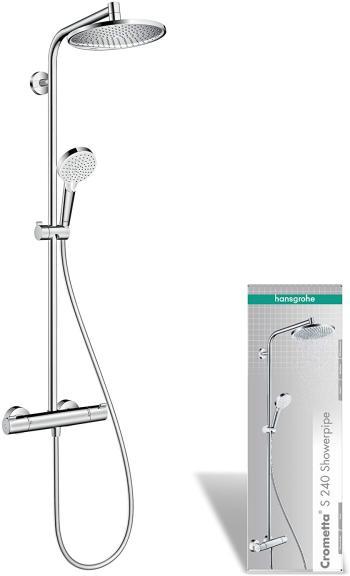 Hansgrohe Colonne de douche Showerpipe Crometta S 240 avec Mitigeur Thermostatique 27267000