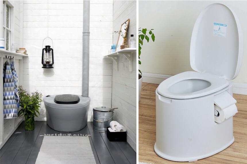 Les 5 Meilleurs WC Chimiques : WC portables pour le camping
