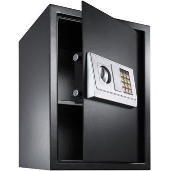 TECTAKE Coffre-Fort Électronique de Sécurité en Acier