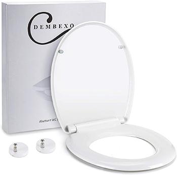 Dembexo® - Abattant WC avec Frein de chute
