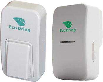 EcoDring Sonnette sans Fil sans Pile ECO
