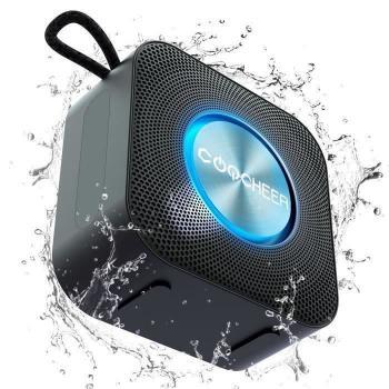 COOCHEER Enceinte Bluetooth 5.0 Portable-Autonomie 10H