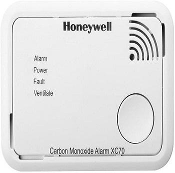 Honeywell XC70-EN Détecteur de monoxyde de carbone à piles