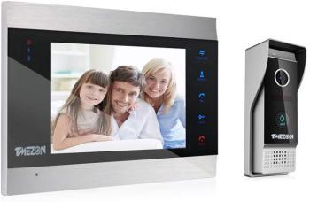TMEZON 1080P Vidéo Interphone Visiophone Portier