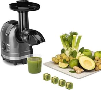 H. Koenig Extracteur de Jus de Fruits et Légumes Horizontal Sans BPA HSX16